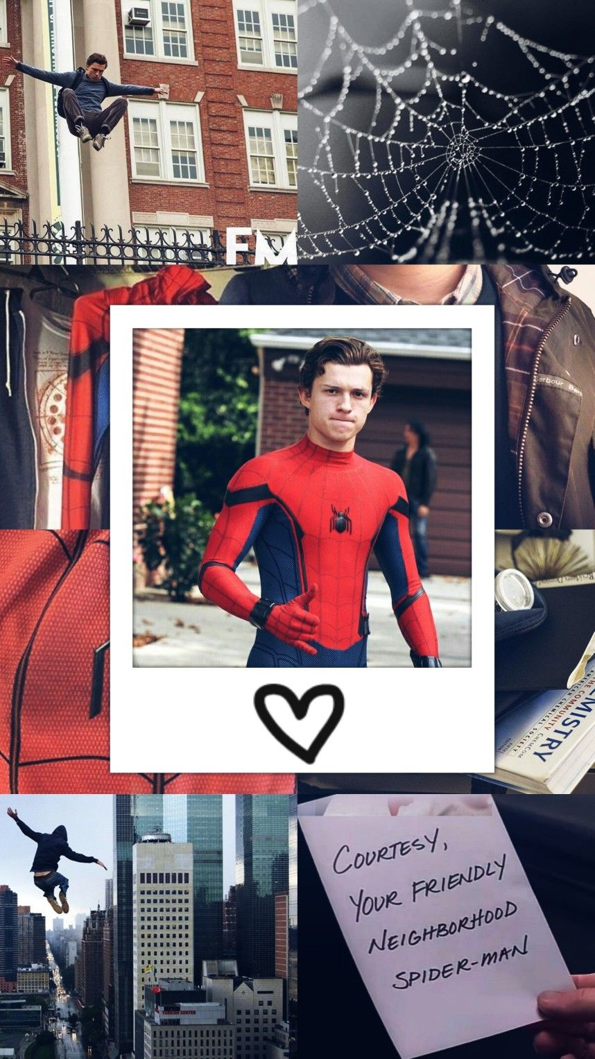 Peter Parker || Spider Man || Tom Holland Lockscreen #peterparker