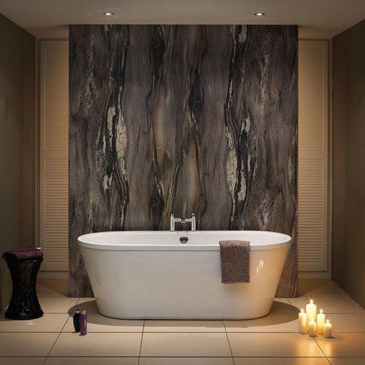 Nuance Panels By BushBoard Finish Dolce Vita  http://www.rubberduckbathrooms.co