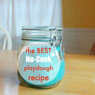 The Best No Cook Playdough Recipe Playdough recipe