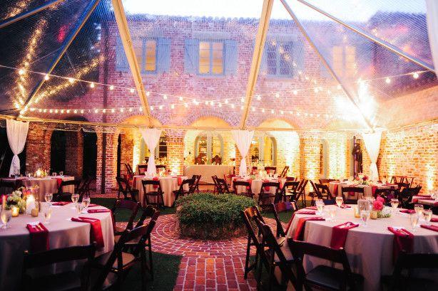 Orlando Wedding And Party Rentals.Incredible Clear Tent Wedding At Casa Feliz Wedding Orlando