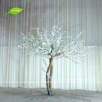 Gnw Bls1608001new Arrival Hot Sale Big White Cherry Blossom Tree For Wedding Decoration Trang Tri Cay
