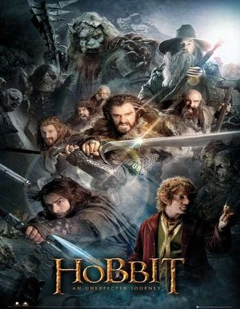 The Hobbit An Unexpected Journey 2012 Hindi Dual Audio 750MB