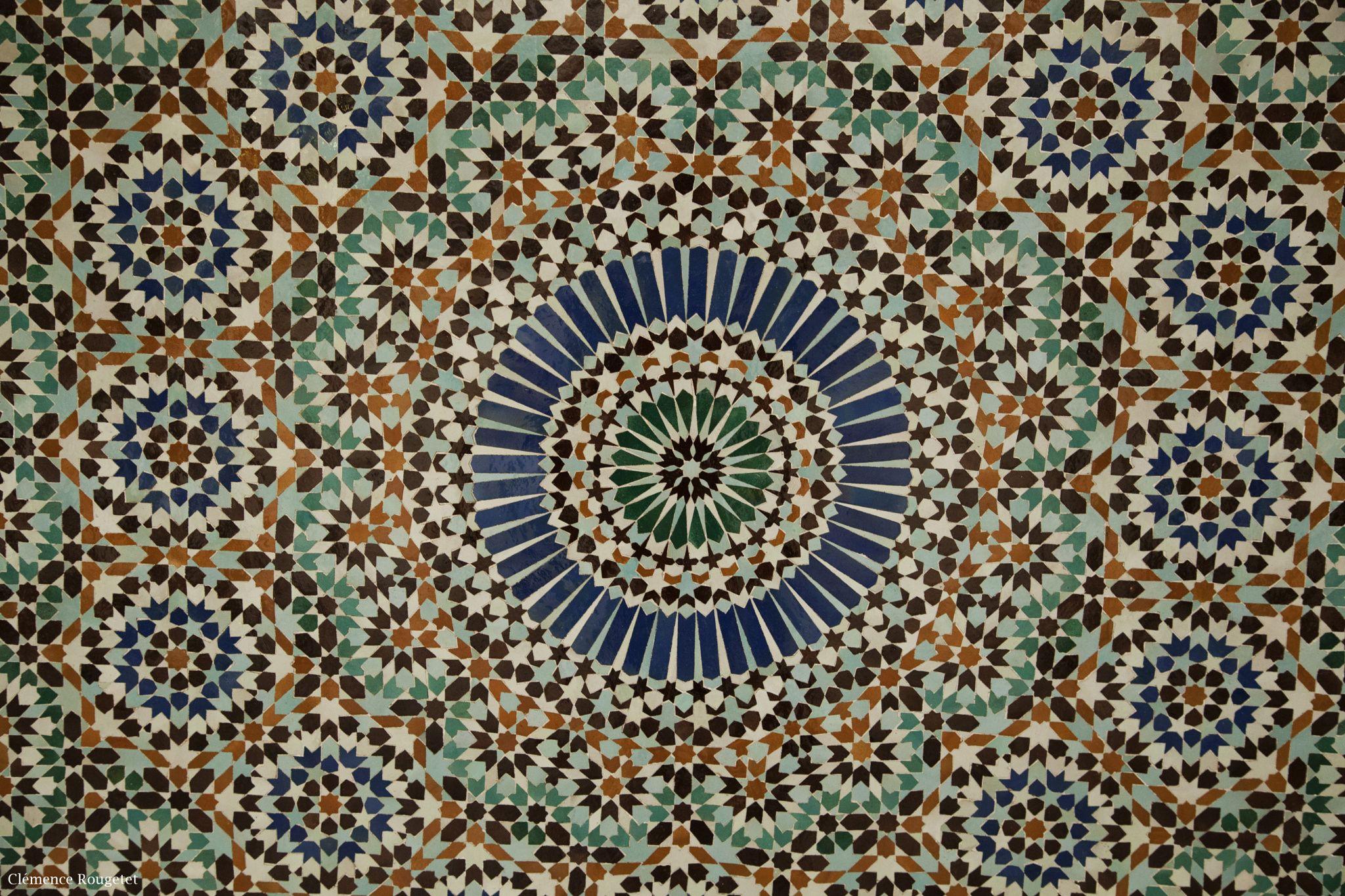 Mosaïque Grande Mosquée de Paris Moroccan art, Islamic