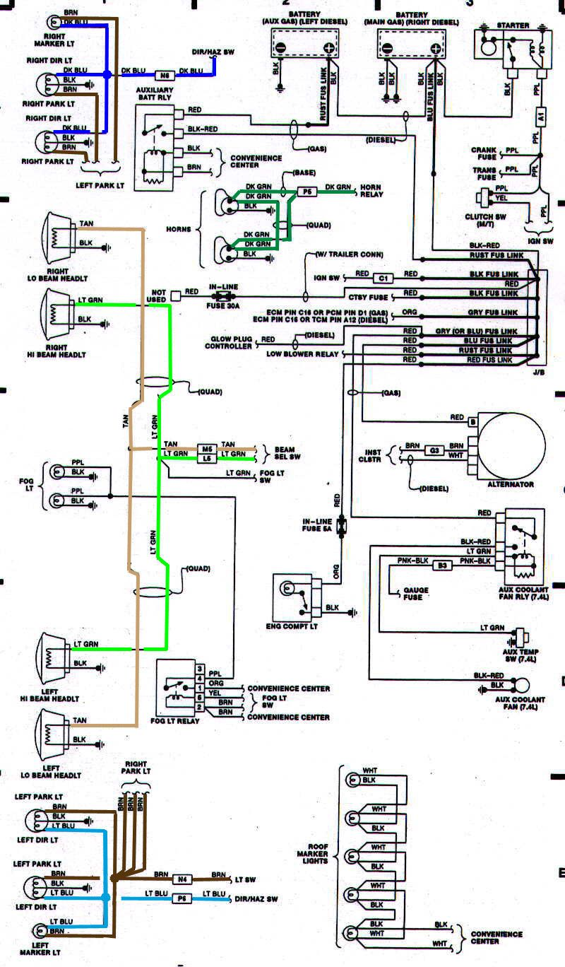 pin by jeff corrie on 77 c10 | 1984 chevy truck, 67 72 ... 1990 chevy k5 blazer wiring diagram 1982 k5 blazer wiring diagram lighting #5