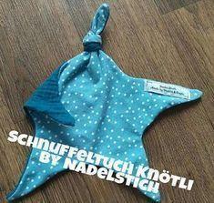 Photo of Kostenloses Schnittmuster Schnuffeltuch Knötli von NadelStich