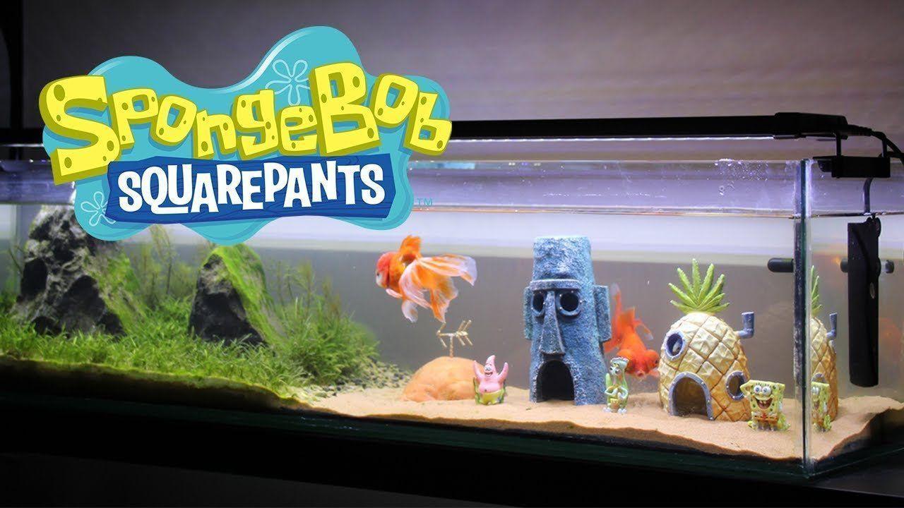 Aquarium Spongebob Ornaments Spongebob Fish Tank Fish Tank Decorations Fish Tank
