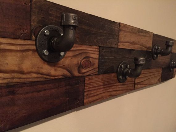 Hey, I found this really awesome Etsy listing at https://www.etsy.com/listing/453401176/rustic-pipe-coat-rack