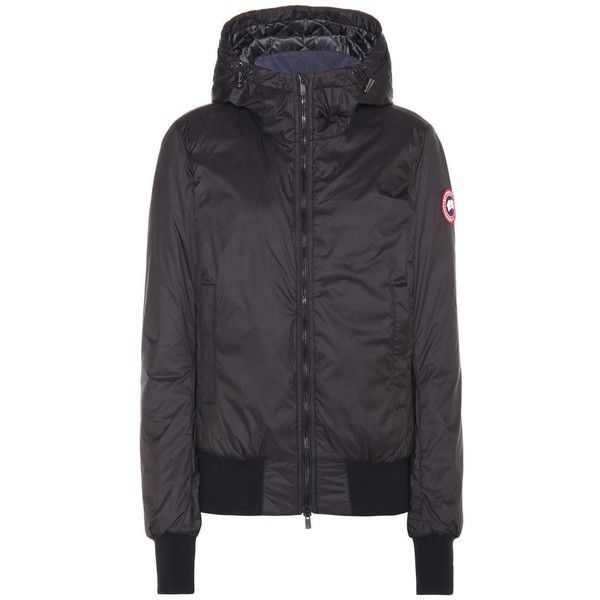 Canada Goose Dore Down Hoodie 577 Liked On Polyvore Featuring Tops Hoodies Jackets Black Outerwear Swea Sweatshirts Hoodie Hooded Sweatshirts Hoodies