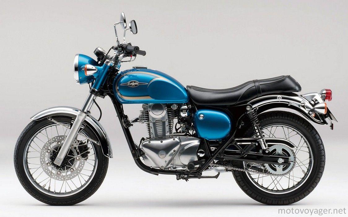 Kawasaki Estrella 250 Retro Motor Motor Sport