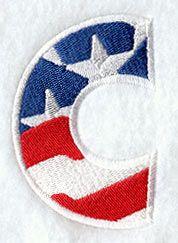 Patriotic Letter C