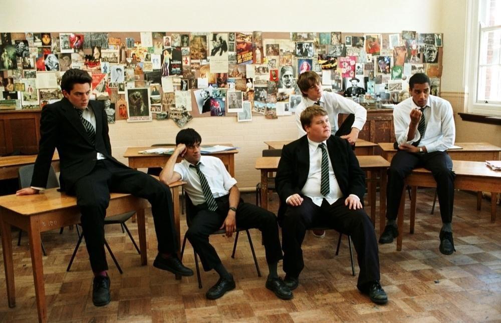 THE HISTORY BOYS, Dominic Cooper, Sacha Dhawan, James Corden, Andrew Knott, Samuel Anderson, 2006