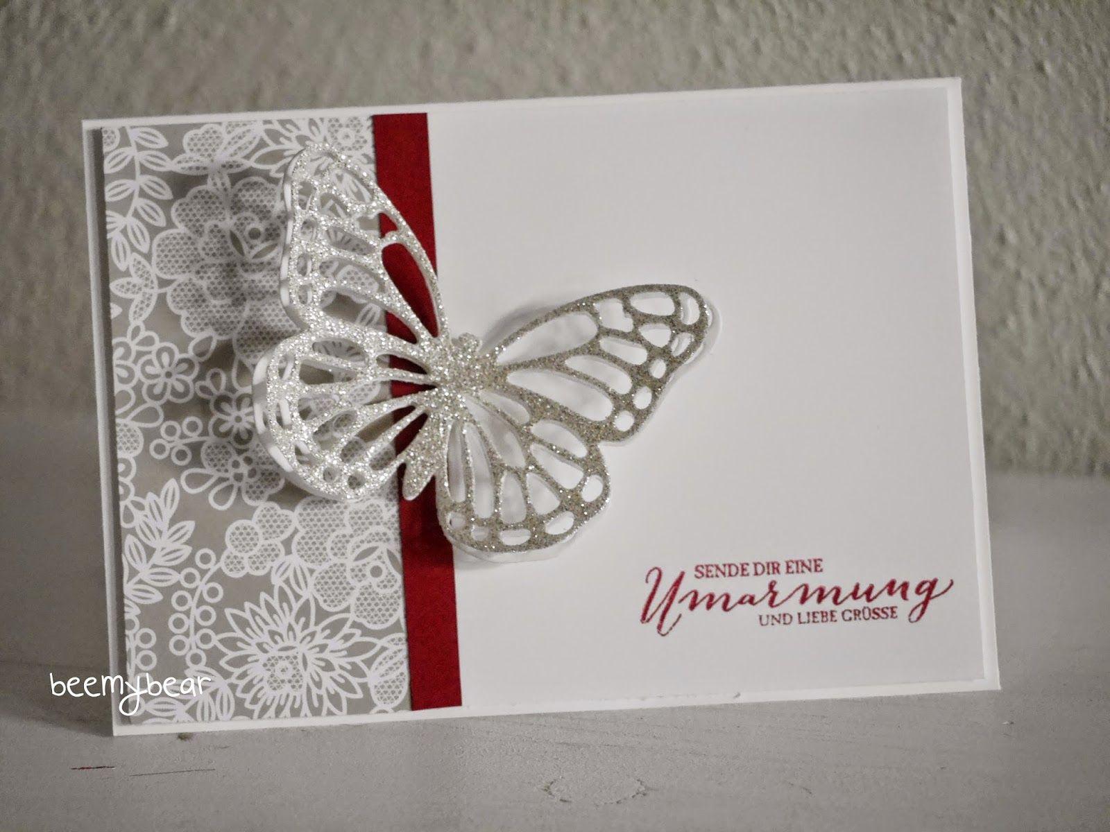 Inspire Your Day #4 - Schmetterlinge Thinlits  Schmetterling