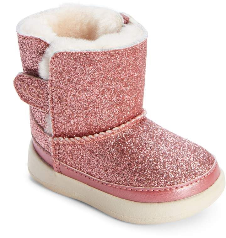 8ab9e297452 UGG Keelan Glitter Genuine Shearling Boot   Products   Shearling ...