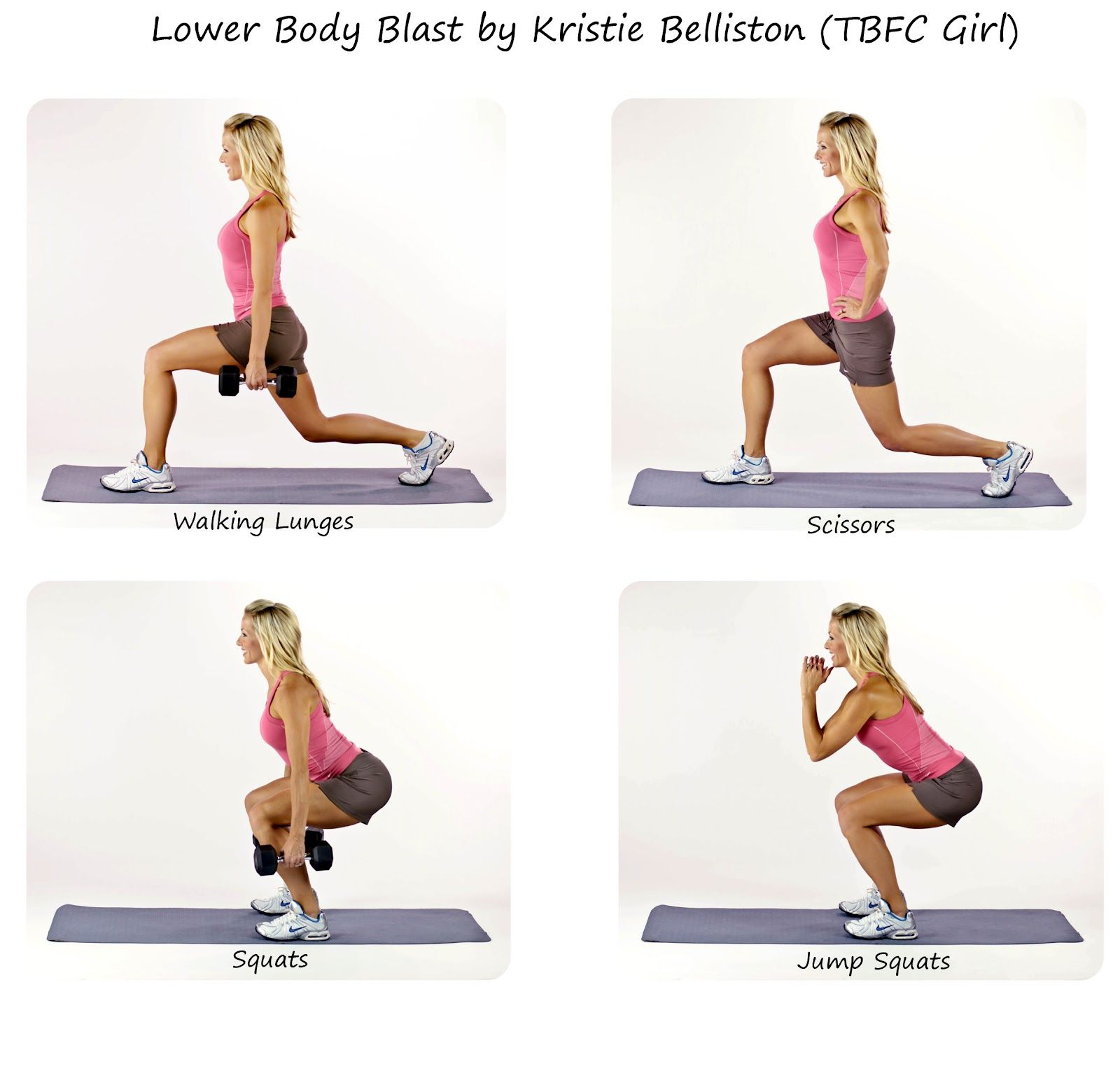 Upper and Lower Body Workout