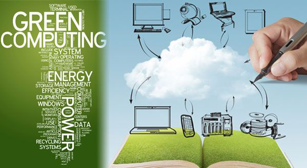 Green Cloud Computing With Images Cloud Computing Green Computing Technology Management