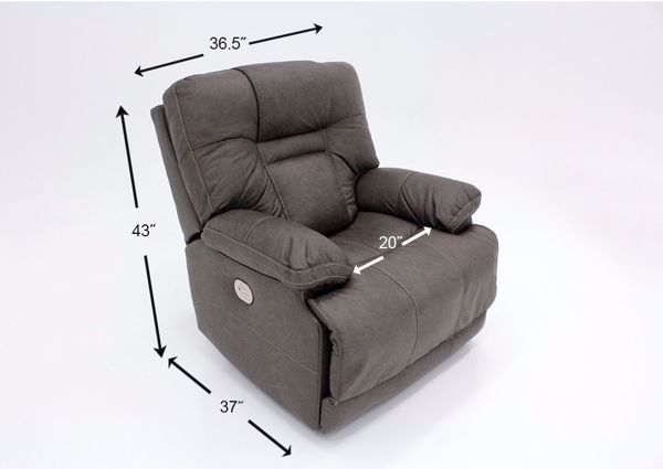 Amazing Wurstrow Power Recliner Gray In 2019 Furniture Cjindustries Chair Design For Home Cjindustriesco