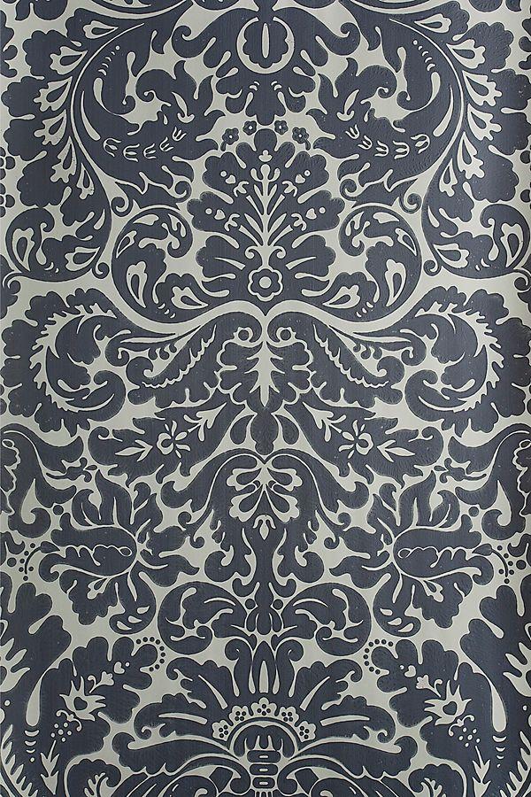 Farrow Ball Silvergate Wallpaper Textures In 2019 Farrow
