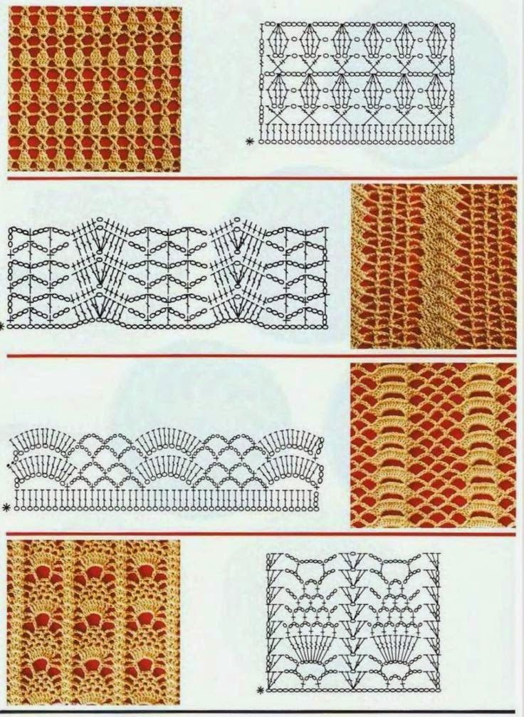 150 Puntos Fantas 205 A En Crochet Con Gr 193 Ficos Patrones