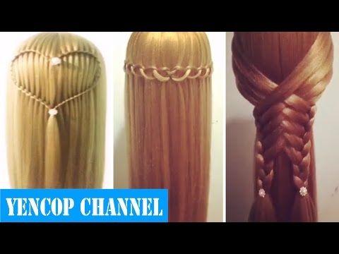 5 Peinados Faciles Y Rapidos Y Bonitos Con Trenzas (P3) Peinado