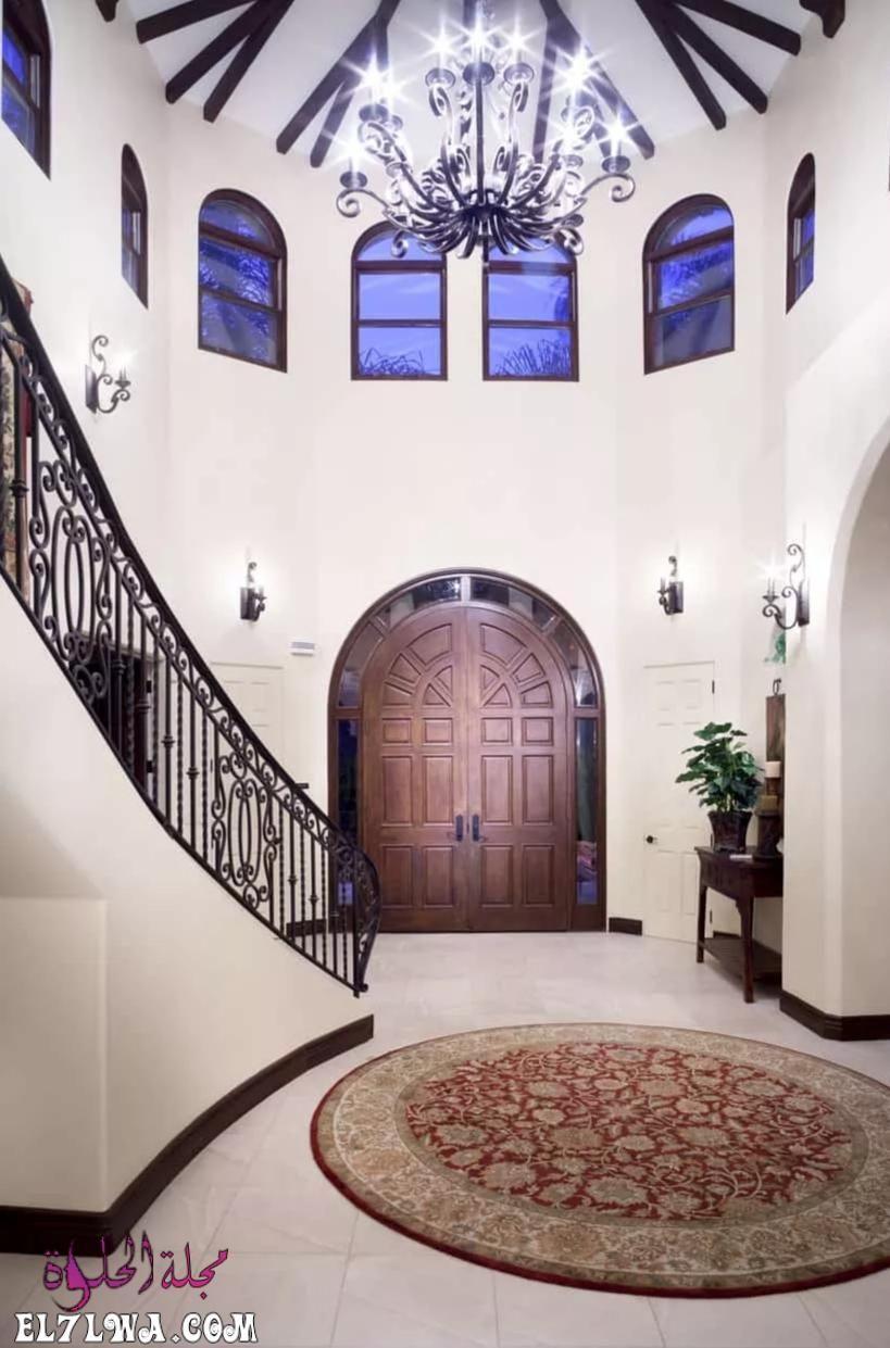 ديكورات مدخل البيت 2021 هي أحد الأمور التي تشغل بال الكثيرين فمدخل البيت هو العنوان والذي يعكس رقي البيت لضيوفك لهذا Foyer Design House Entrance Vintage House