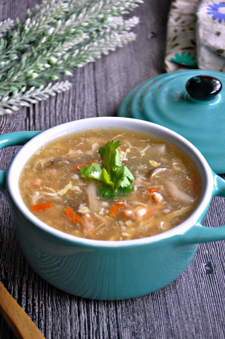 Winter Melon Soup with Crabmeat 冬瓜蟹肉羹 - Eat What Tonight
