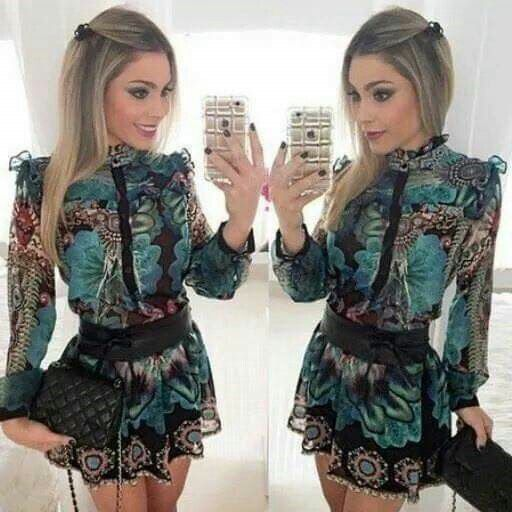 Weird and beautiful short dress, looks like a chinese dress 💓