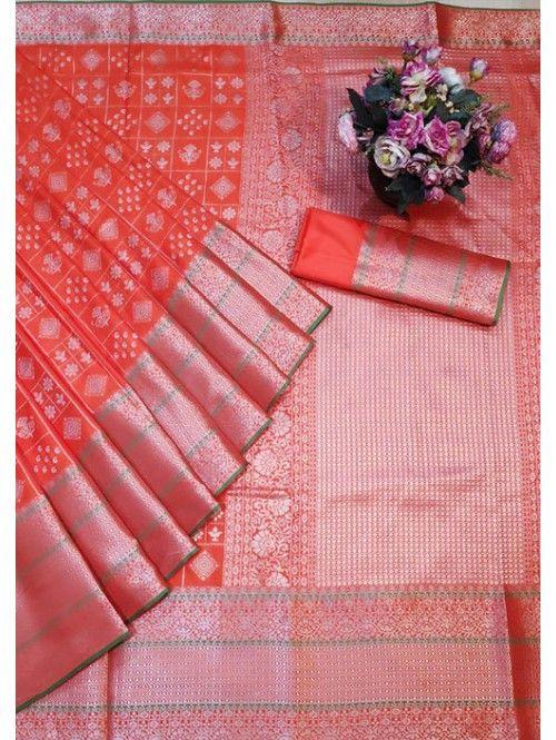 1550 Free Shipping SKU  gnp005763  Banarasi Silk Saree Jacquard With Rich Pallu  1550 Free Shipping SKU  gnp005763  Banarasi Silk Saree Jacquard With Rich Pallu  Visit No...