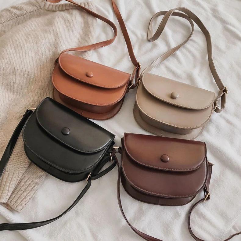 Photo of Damentasche 2019 koreanische Version der neuen Mode aus Leder kleine Nieten einfa …