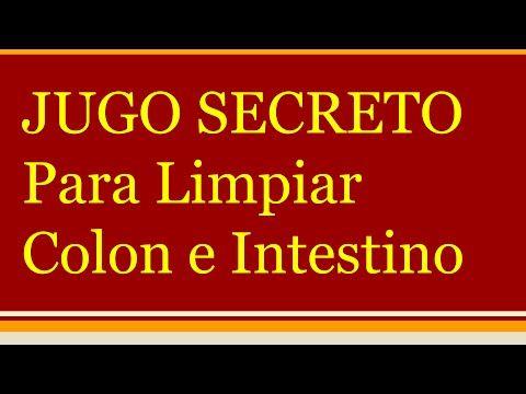 JUGO SECRETO para el colon | Jugos para limpiar el colon | Jugos natural...