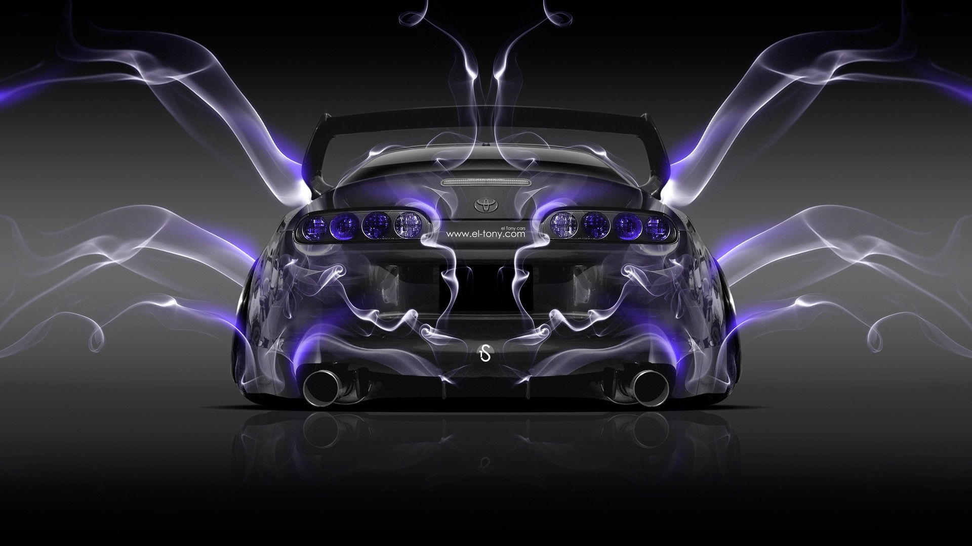 Genial Nice Purple Toyota Supra