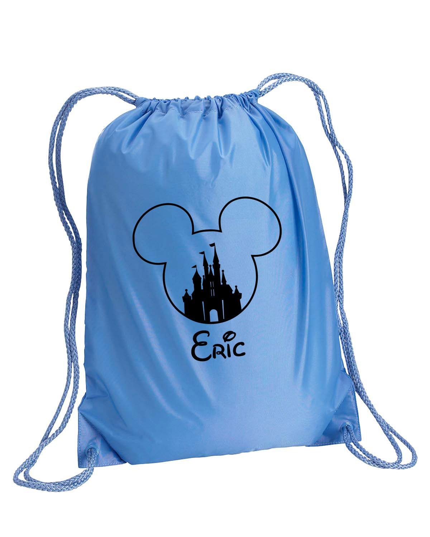 ea3e013f5bc7 Castle Mickey bag, Mickey Mouse drawstring bag, Mickey sling bag ...