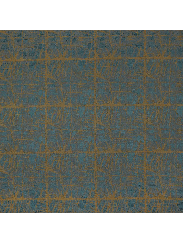 John Lewis Amp Partners Kyla Furnishing Fabric Teal Gold
