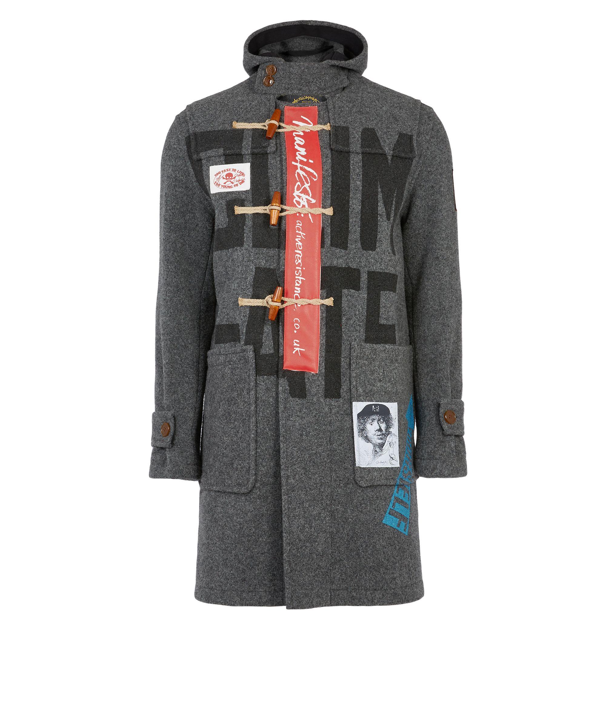 Monty Coat Grey