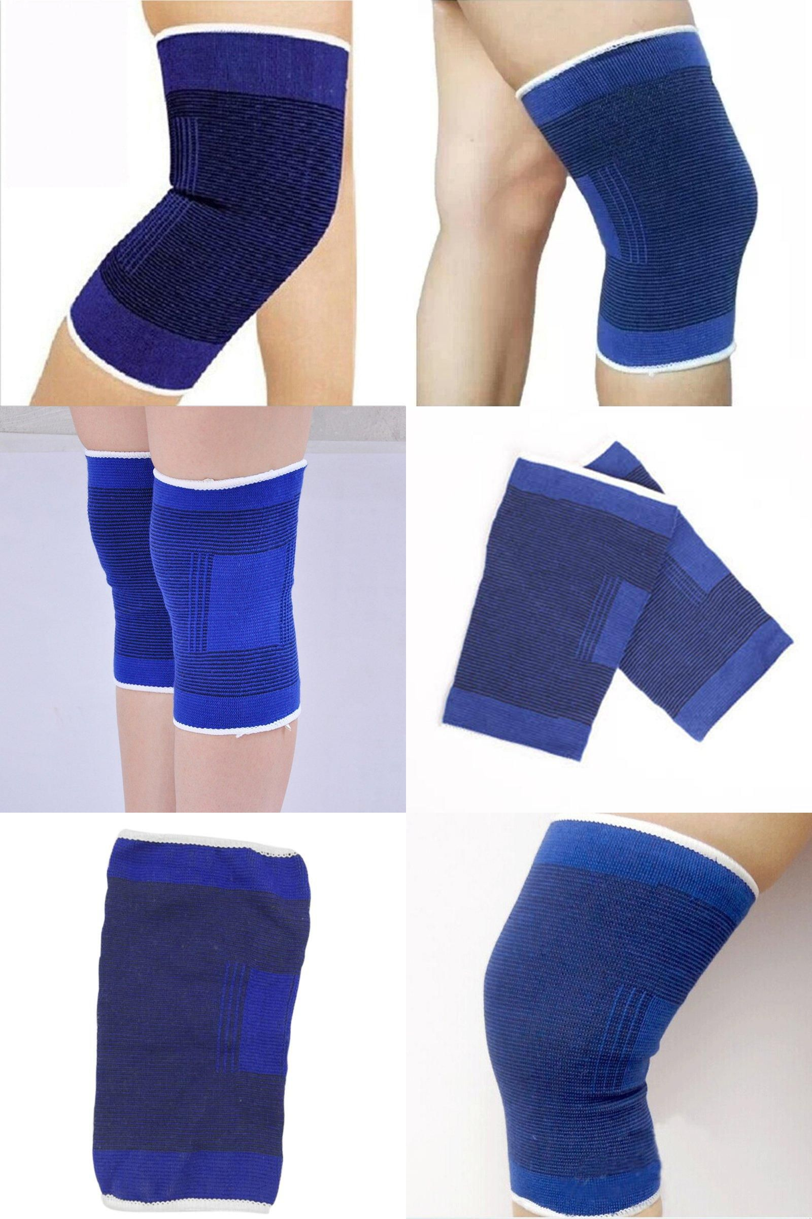 Visit To Buy Kneepads Protection Gear Sport Safety Knee Elastic Brace Muscle Support Elastic Elbow Guard Protector A Protection Gear Sport Safety Knee Brace