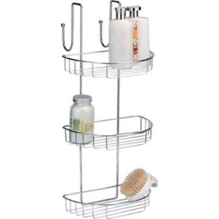 buy extra large 3 tier shower caddy at your. Black Bedroom Furniture Sets. Home Design Ideas