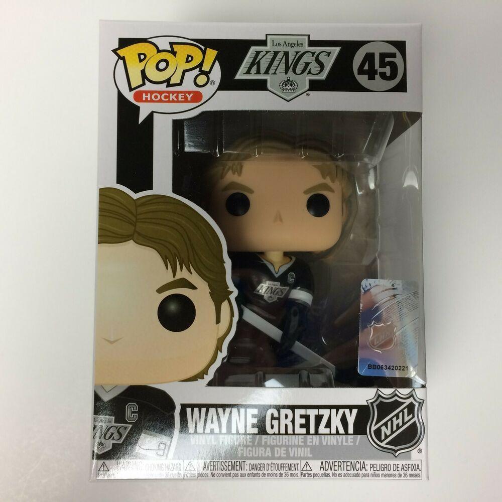 NHL  Los Angeles Kings FUNKO POP Hockey Wayne Gretzky Vinyl Figure #45