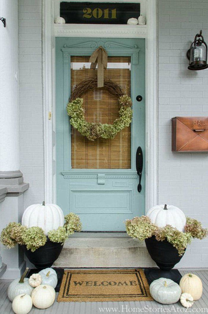 Fall Front Door Ideas Connecticut In Style Fall Decorations Porch Fall Front Porch Decor Front Porch Decorating