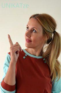 UNIKATze: Simple Plain Pullover Klappe die zweite