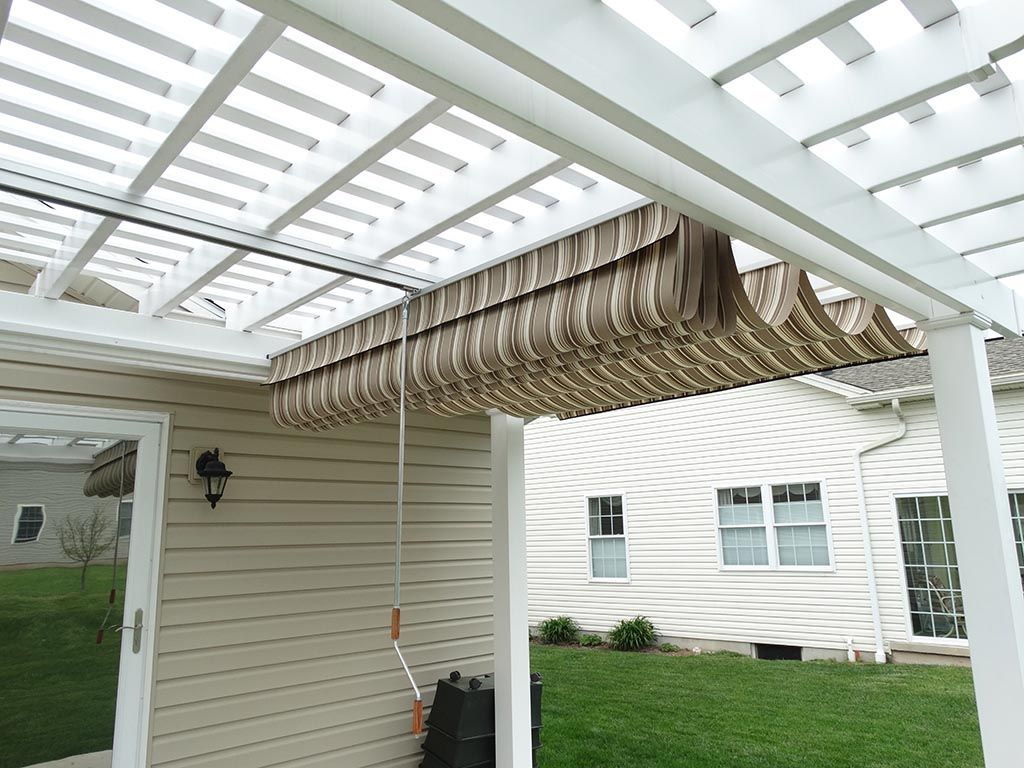 Pergola Retractable Shade Covers