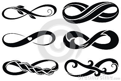 infini symboles de tatouage tatouages pinterest illustrations. Black Bedroom Furniture Sets. Home Design Ideas