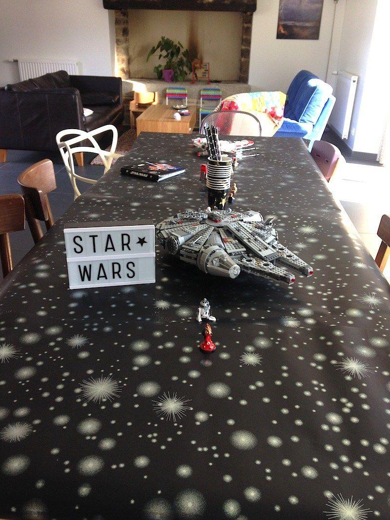 Bien connu Une fête d'anniversaire sur le thème de Star Wars   Do it yourself  IF94