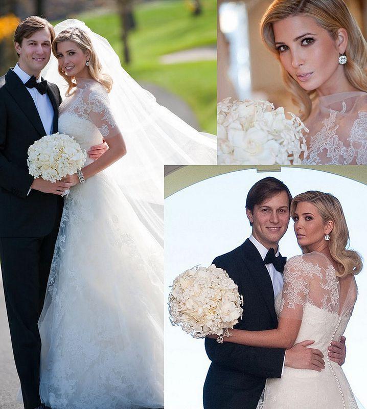 Inspiration White Roses And Stephanotis Wedding Dresses Ivanka Trump Wedding Famous Wedding Dresses