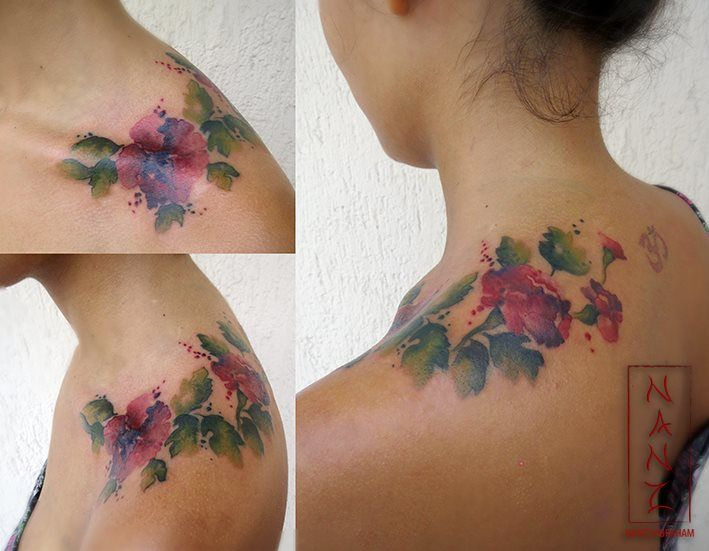 Watercolor Carnations By Nancy Abraham Carnation Tattoo Tattoos