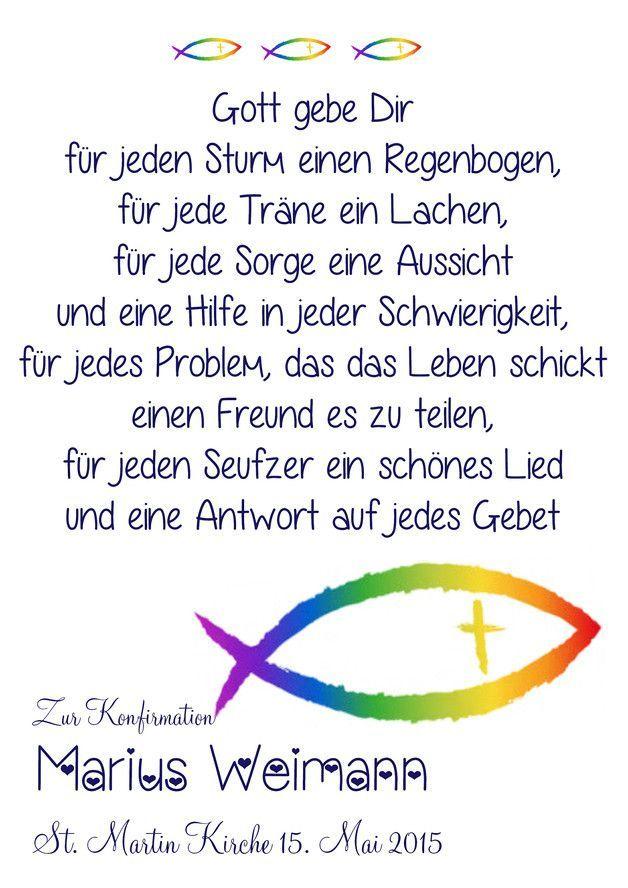 Bildergebnis Fur Konfirmation Gluckwunsche Fisch Spruche