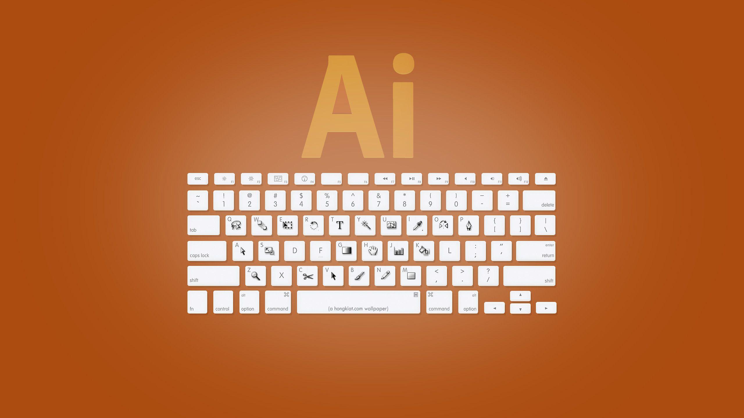 Adobe Illustrator Shortcuts Design