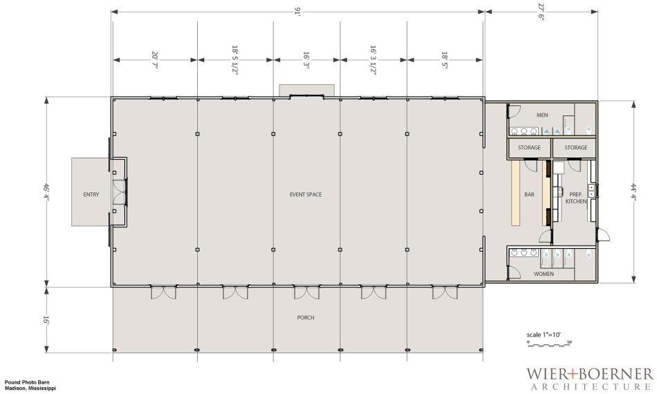 Smart Floor Plan 1265 Crottlestown Road Barn