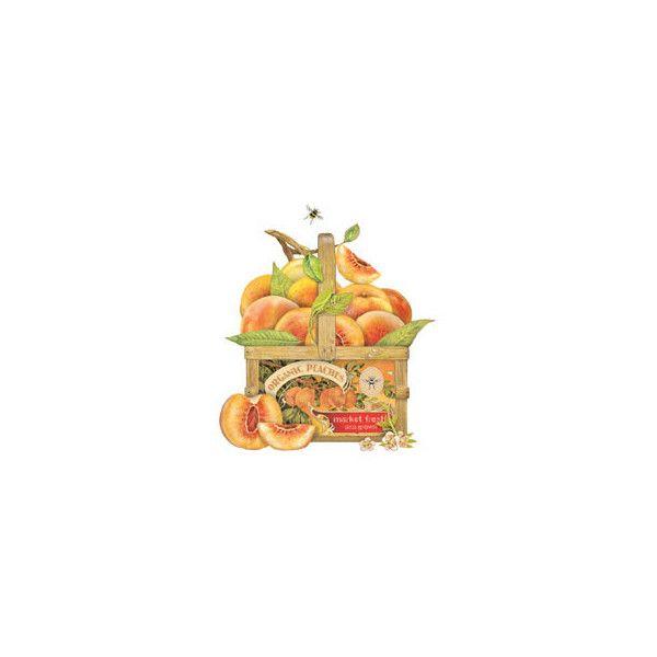 Peach Trug ($25) ❤ liked on Polyvore