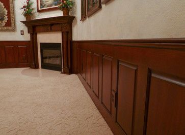 Mahogany Raised Panel Wainscoting Dining Room Dining Room Wainscoting Rustic Wainscoting Wainscoting Styles