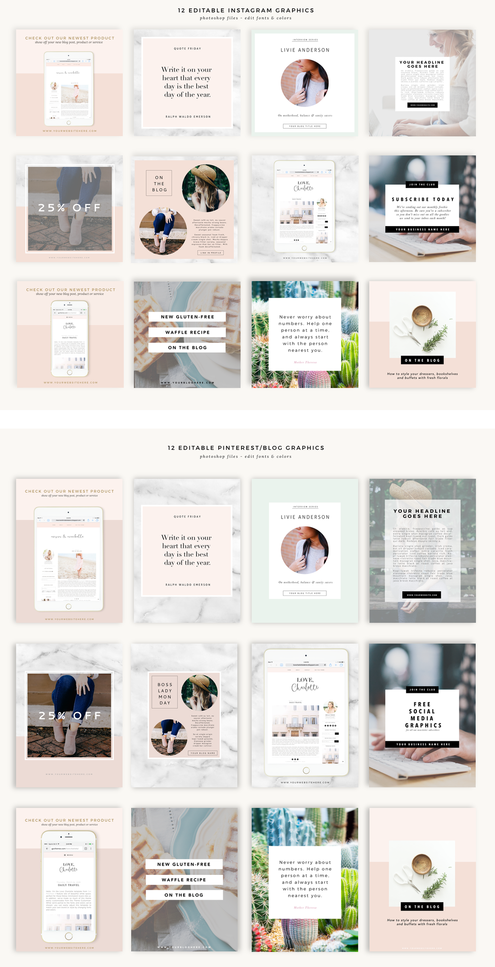 24 Totally Free Social Media Graphic Templates Blog