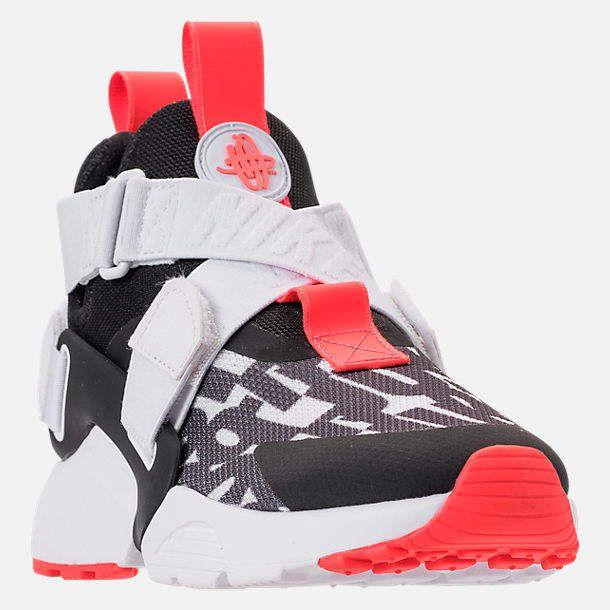 9d4e451615c1 Kids  Grade School Huarache City JDI Premium Casual Shoes  rubber pods sole